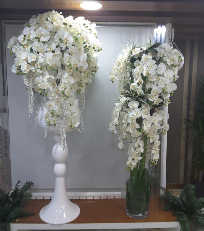 Kişiye Özel Beyaz Orkide Arajmanı