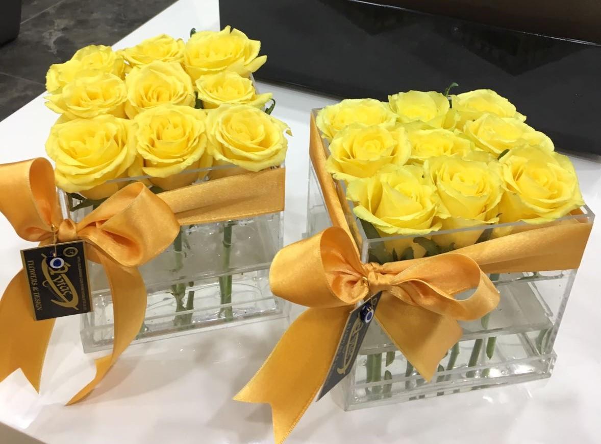 Kutuda Sarı Güller